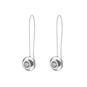 Serling Silver Drop Earrings