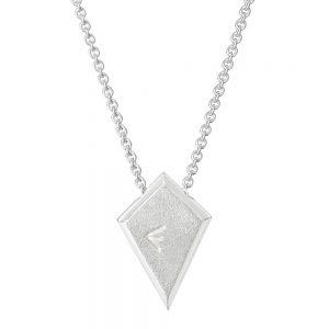 sterling silver native Indian kite pendant